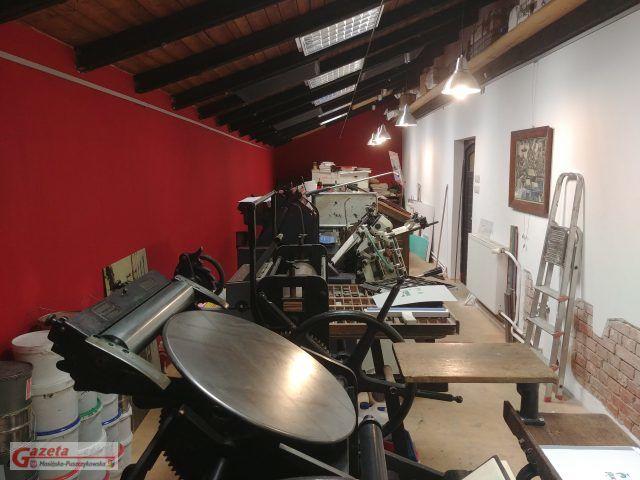 zabytkowa drukarnia Gutenberga w Puszczykowie