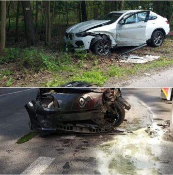 Wypadek w Puszczykowie - Ochotnicza Straż Pożarna w Puszczykowie