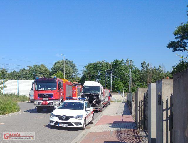 śmiertelny wypadek z udziałem pociągu w Mosinie
