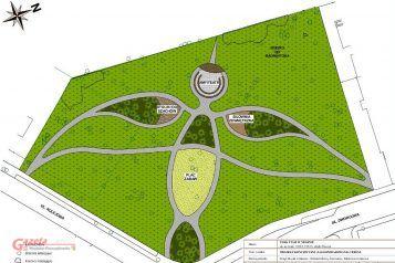 Ptasi Park w Mosinie - plan