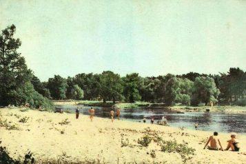 Puszczykowo - plaża nad Wartą 1968 rok