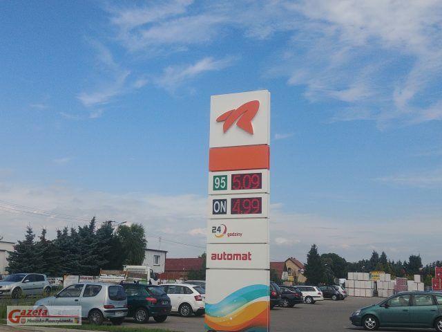 stacja paliw w Krośnie (gmina Mosina)