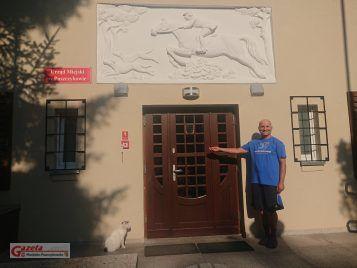 Tomek Wędrowniczek odwiedził Puszczykowo