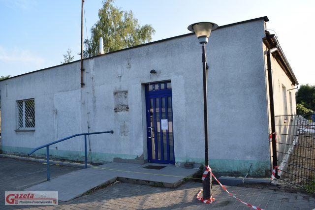 Dawna siedziba UP na ulicy Magazynowej w Puszczykowie