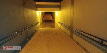 Zalany tunel w Drużynie Poznańskiej