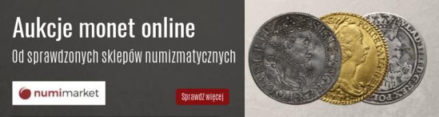 Aukcje monet online - Numimarket.pl