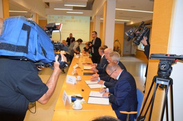 Podpisanie porozumienia PKS
