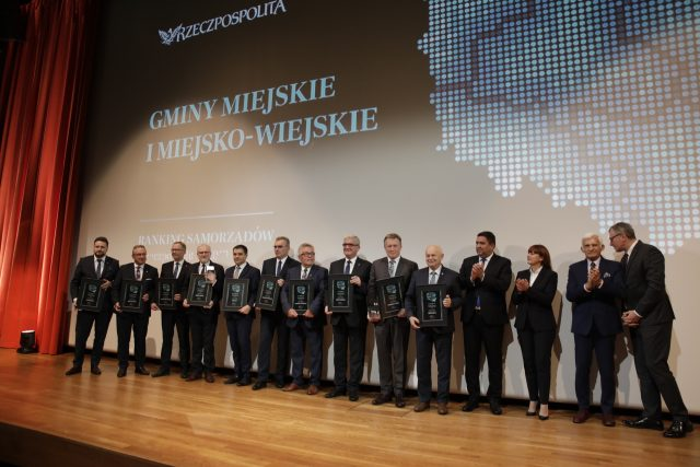 Zwycięska 10. w kategorii gminy miejskie i miejsko-wiejskie / fot. Stefan Mleczak