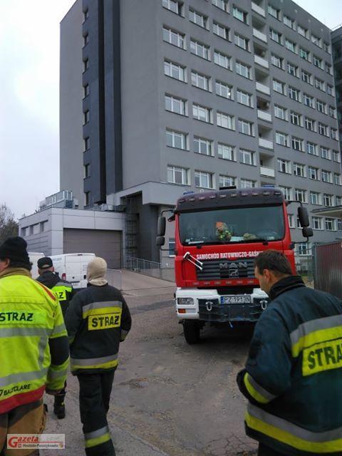 Szpital w Puszczykowie - straż pożarna