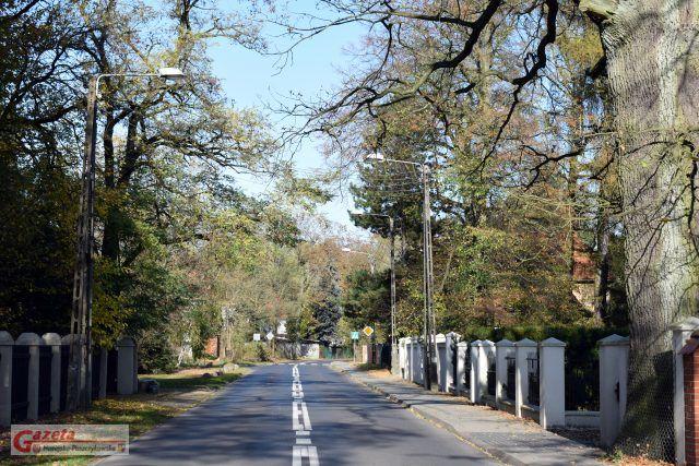 ulica Cyryla Ratajskiego w Puszczykowie