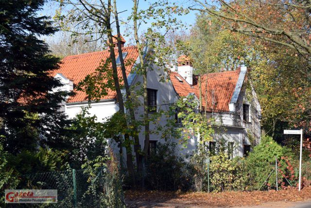 Dom W. Tomaszewskiego, widok od ul. Cyryla Ratajskiego