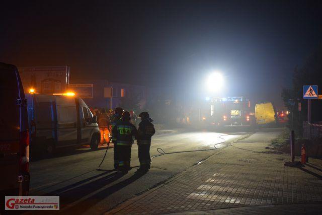 Zagrożenie wybuchem gazu na ulicy Śremskiej w Mosinie