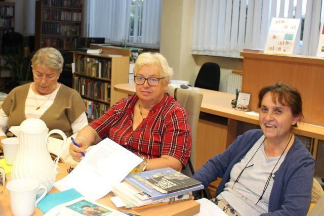 Spotkanie DKK - Biblioteka w Mosinie