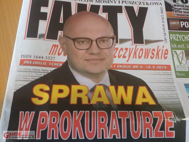 okładka gazety Fakty Mosińsko Puszczykowskie