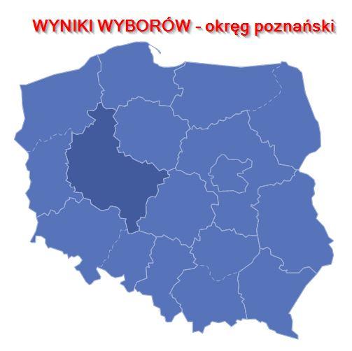 wyniki-wyborów - Poznań