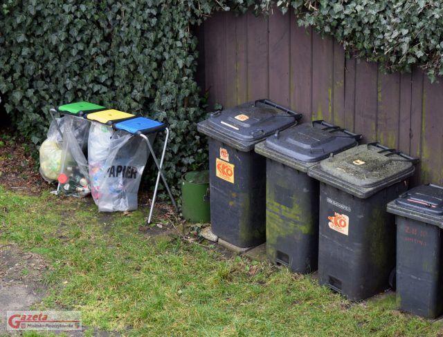 śmieci - odpady segregowane i niesegregowane