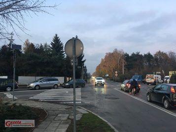 Skrzyżowanie ulicy Piotra Mocka i Rzeczypospolitej Mosińskiej