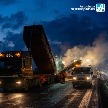 Zdjęcia z budowy - Autostrada Wielkopolska