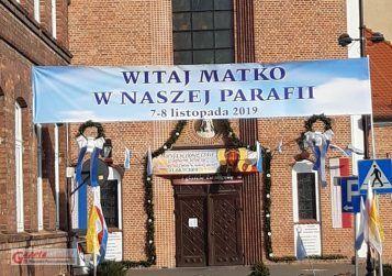 Obraz Jasnogórski - kościół w Mosinie