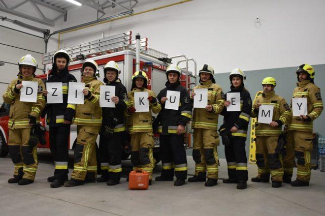 strażacy OSP Puszczykowo