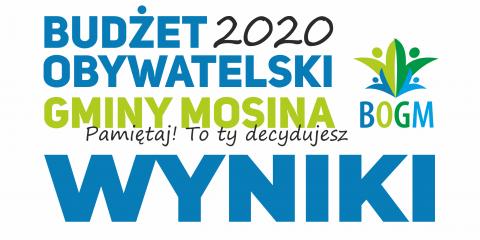 Budżet obywatelski gmina Mosina - wyniki