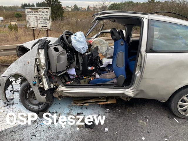 Poważny wypadek na DK nr 5 w Rosnówku