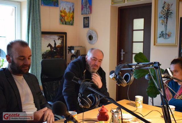 Audycja w studio Radia MPL