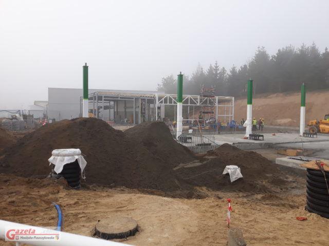 Pierwsza powstająca w naszej okolicy stacja benzynowa należąca do sieci stacji BP