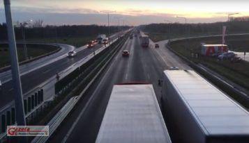 autostrada A2 - otwarcie 3 pasa ruchu