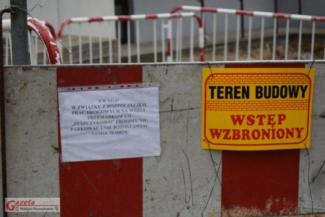 budowa zintegrowanego węzła przesiadkowego w Puszczykowie