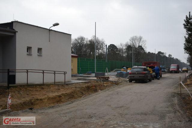 budowa zintegrowanego węzła przesiadkowego w Puszczykowie (3)
