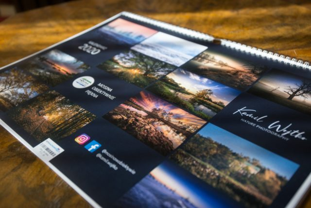 kalendarz fotograficzny na rok 2020 autorstwa Kamila Wojtko