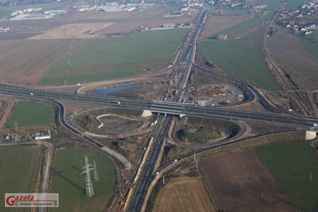 Droga ekspresowa S5 zdjęcie lotnicze - Generalna Dyrekcja Dróg Krajowych i Autostrad
