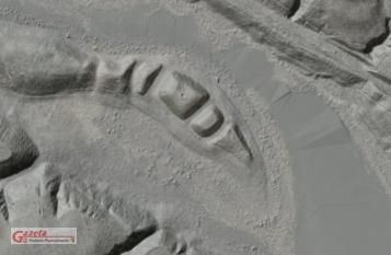 Szwedzkie góry - rzeżba terenu (LIDAR - geoportal.gov.pl)
