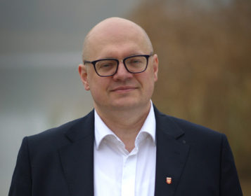 Przemysław Mieloch - burmistrz gminy Mosina