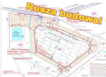 rusza budowa zbiornika na osiedlu Nowe Krosno