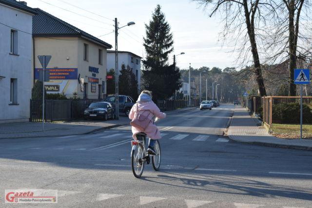 skrzyzowanie ulic Kolejowej i Śremskiej w Mosinie