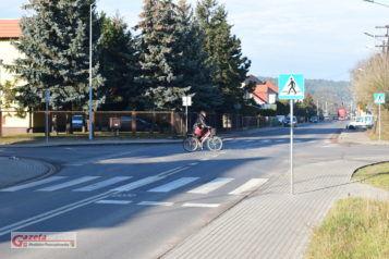 skrzyżowanie ulic Kolejowej i Śremskiej w Mosinie