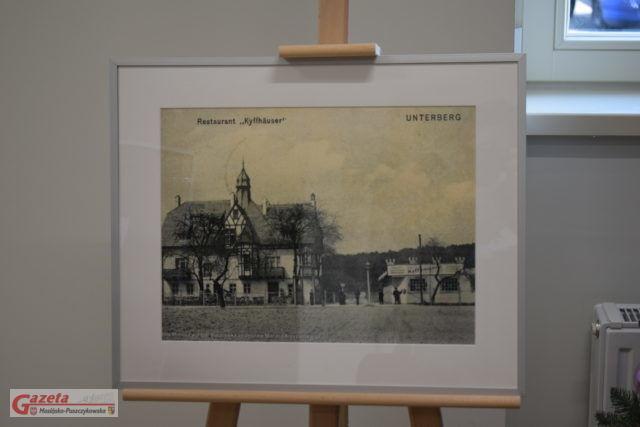 willa Mimoza w Puszczykowie - wystawa