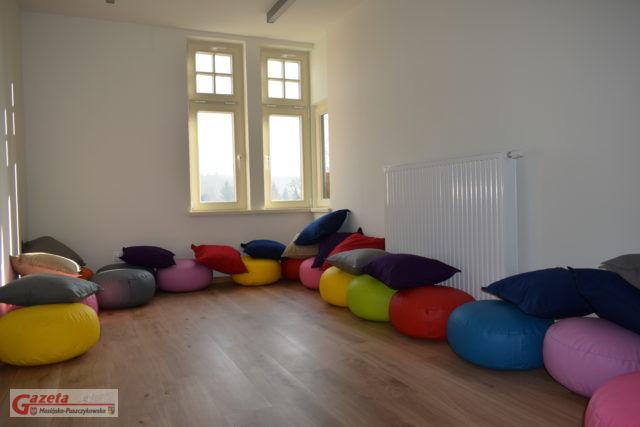 willa Mimoza w Puszczykowie - wewnątrz budynku