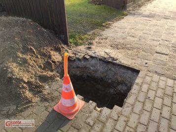 wykop - Krosno ulica Główna