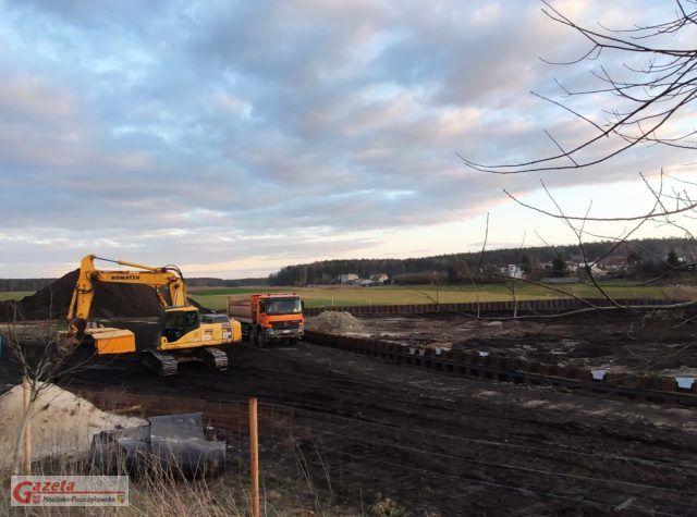 budowa szczelnego zbiornika wód deszczowych w Krośnie