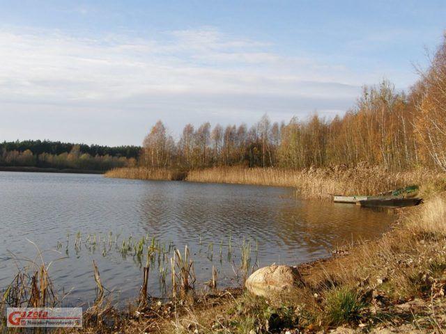 Jezioro Kamińskie Puszcza Zielonka