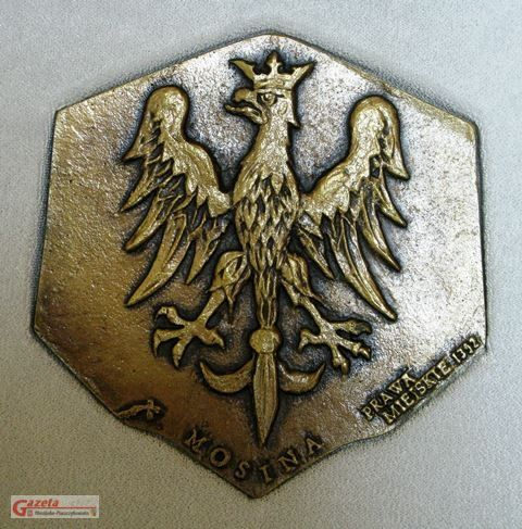 Medal Rzeczypospolitej Mosińskiej - awers