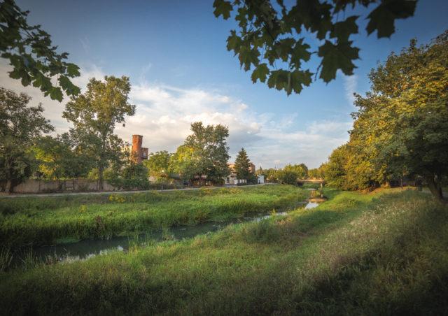 Mościnka, a obecnie Kanał Mosiński
