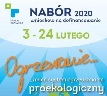 ogrzewanie - nabór wniosków 2020