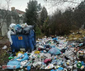 śmieci w Mosinie