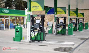 BP - stacja paliw w Łęczycy