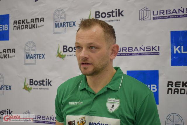 Michał Wasielewski, trener UKS Orlik Mosina