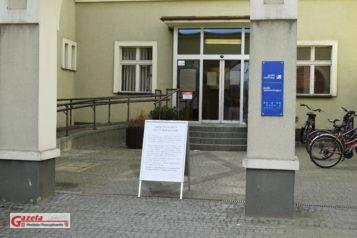 zamknięty Urząd Miejski w Mosinie